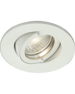 Lumiance inbouw spotlight wit 1x50W 12v 90mm/75mm schroef/steekklem